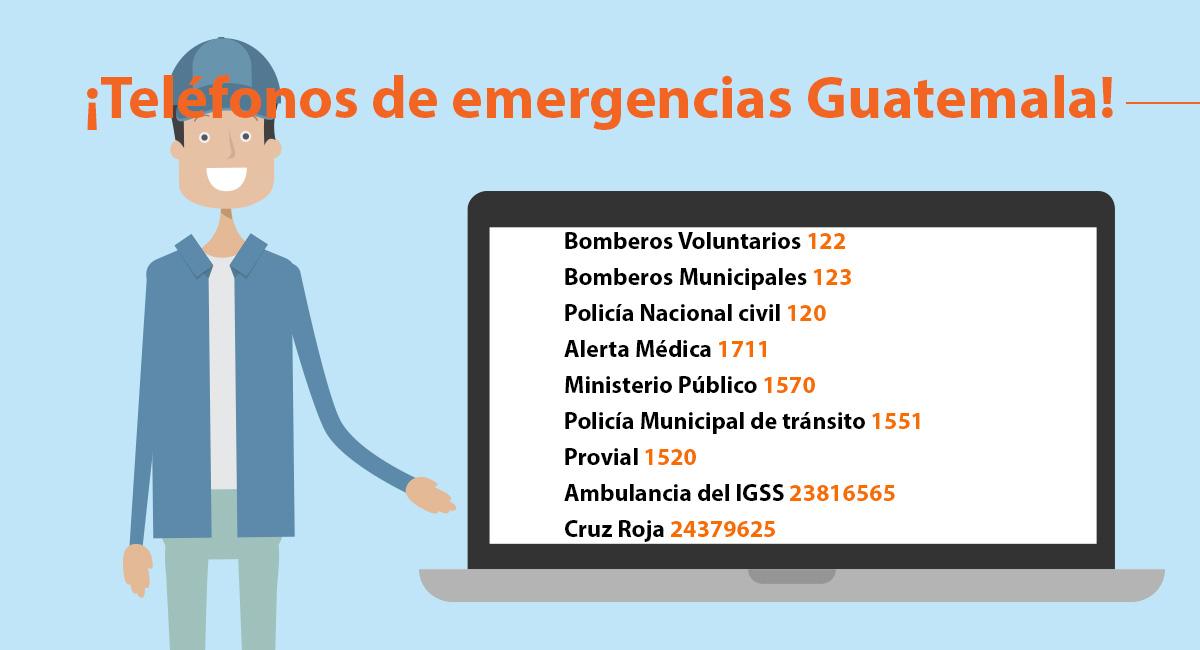 Miauto Tel Fonos De Emergencias Guatemala